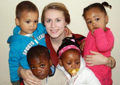 Kindergarten volunteer in Cape Town