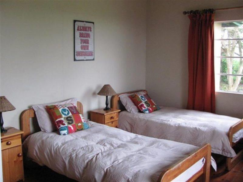 Bedroom at the big 5 wildlife volunteer project in South Africa