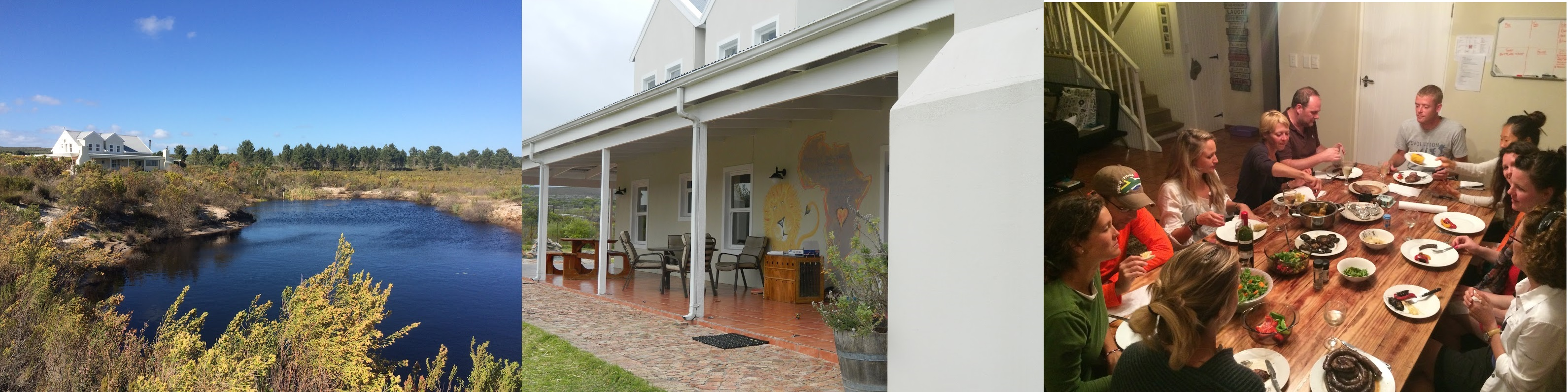 Accommodation at the volunteering project in South Africa