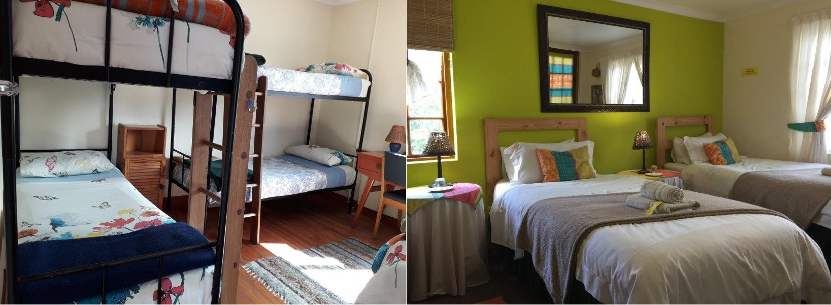Backpackers accommodation option