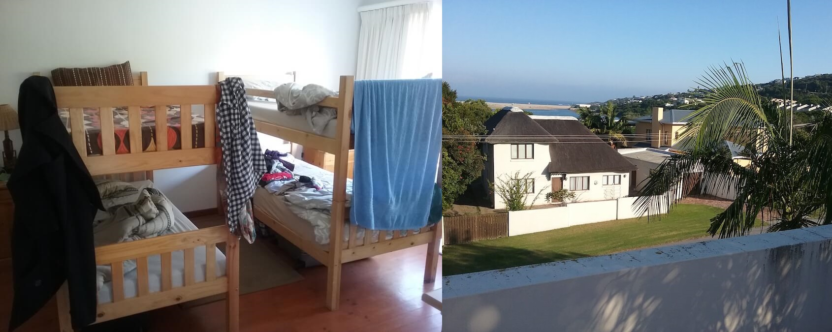 Picture of the accommodation at the Marine conservation project
