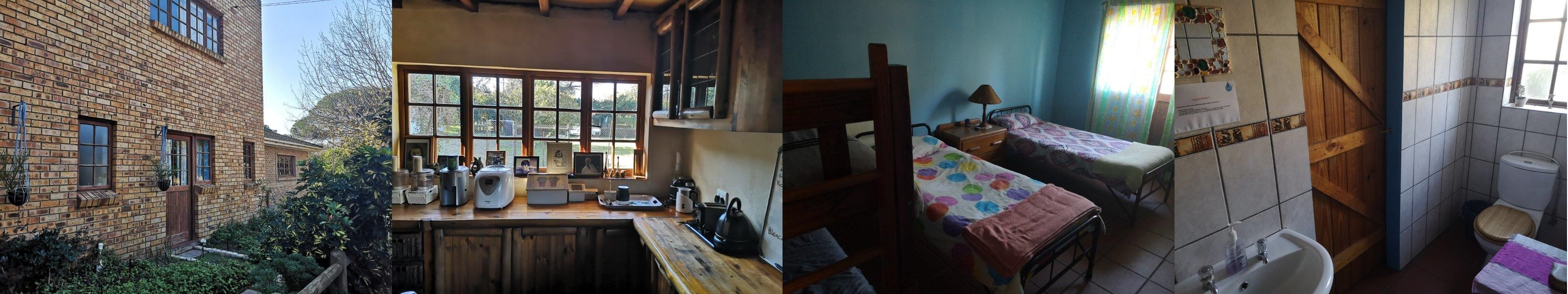 Accommodation at the primary school volunteer project in Cape town