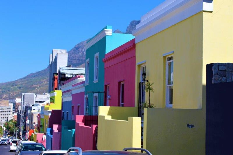 Bo Kaap in Cape Town South Africa