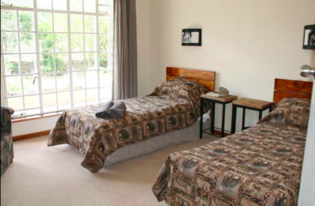 Accommodation at the Wildlife foundation volunteering program in South Africa