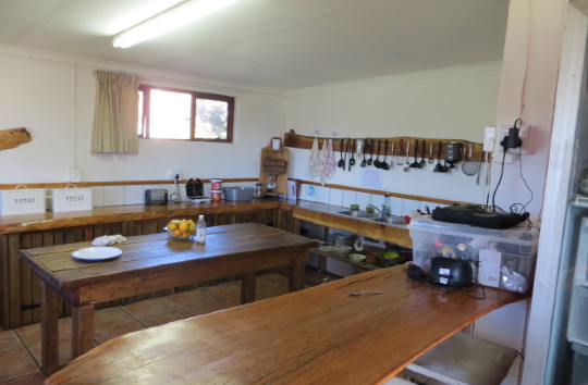 Accommodation at the African Elephant Research project in South Africa